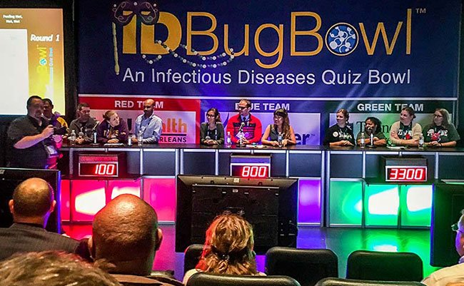 Tulane docs squash the  competition at Bug Bowl